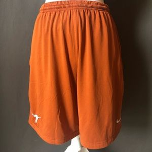 Nike UNIVERSITY OF TEXAS/ UT basketball shorts